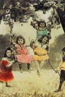 autore non indicato Cartolina con fotomontaggio (part.) - colorata a mano - 1910 ca.