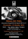 Mostra PRIMA DEI PIXEL  - Prorogata al 31.03.2011