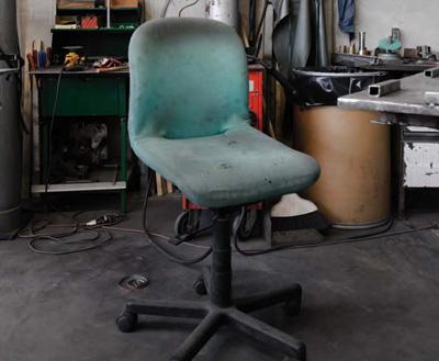 A place to sit (particolare)