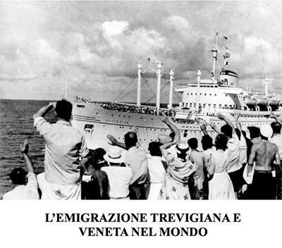 """Mostra fotografica """"L'Emigrazione Trevigiana e Veneta nel mondo"""" - Inaugurazione 20 aprile 2013 ore 11.00 a S. Donà - VENEZIA"""