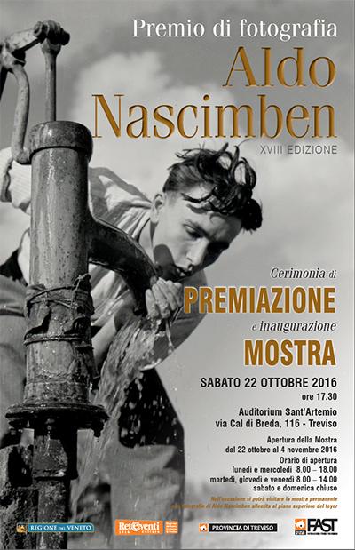 Premio di Fotografia Aldo Nascimben 2016