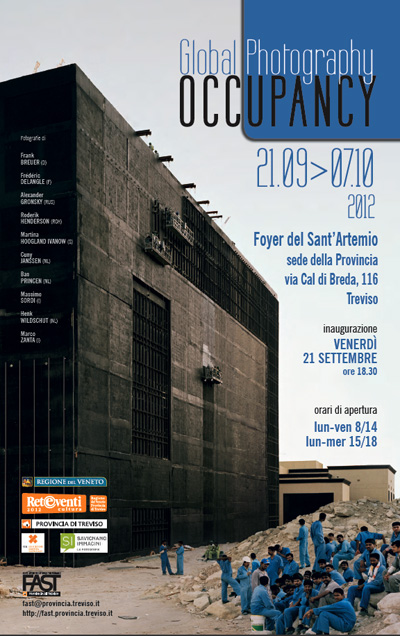 "Locandina ""Global Photography Occupancy"""