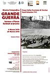 """Mostra della Grande Guerra """"Isonzo e Piave: soldati al fronte"""" - Inaugurazione 6 marzo 2015 ore 18,30 c/o Foyer della Provincia di Treviso"""