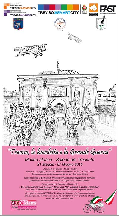 """Mostra fotografica """"Treviso, la bicicletta e la Grande Guerra"""""""