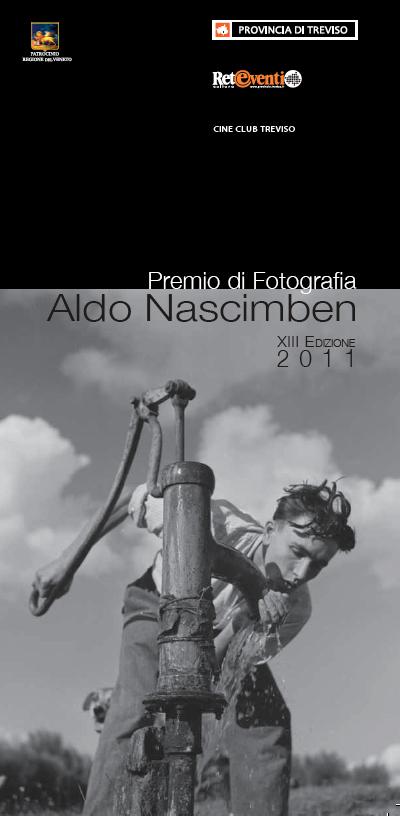 Locandina del Premio di Fotografia Aldo Nascimben 2011