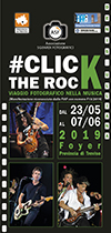 """Mostra fotografica """"Click the Rock -Viaggio fotografico nella musica"""""""