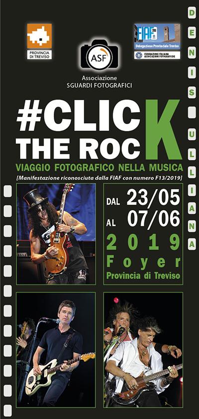 """Invito mostra fotografica """"Click the Rock -Viaggio fotografico nella musica"""""""