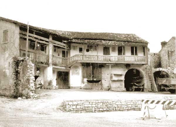 Giuseppe Mazzotti, Abitazione rurale, anni '60 - FAST Fondo G. Mazzotti