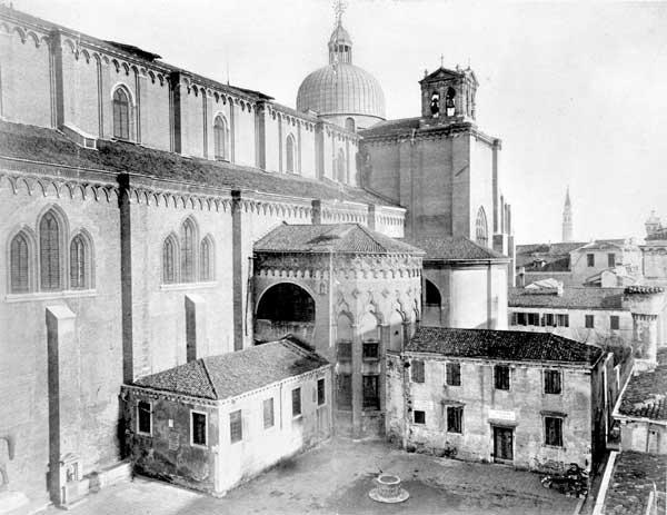 G. Janhovich, Venezia, La scomparsa chiesa di San Paternian. 23 agosto 1873