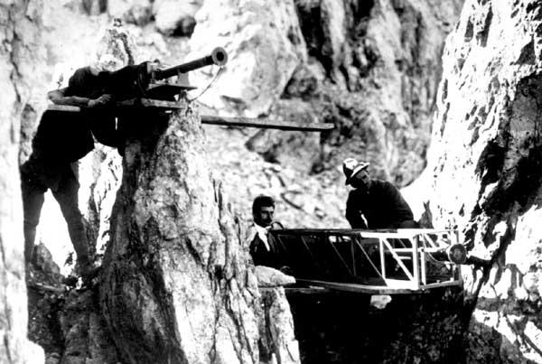 Anonimo. Piz Umbrail (Stelvio): 4a Squadra Fotografica. Riprese con obiettivi a lunga focale. Piz Umbrail (Trento), 1915-1917 Museo del Risorgimento e della Resistenza di Vicenza