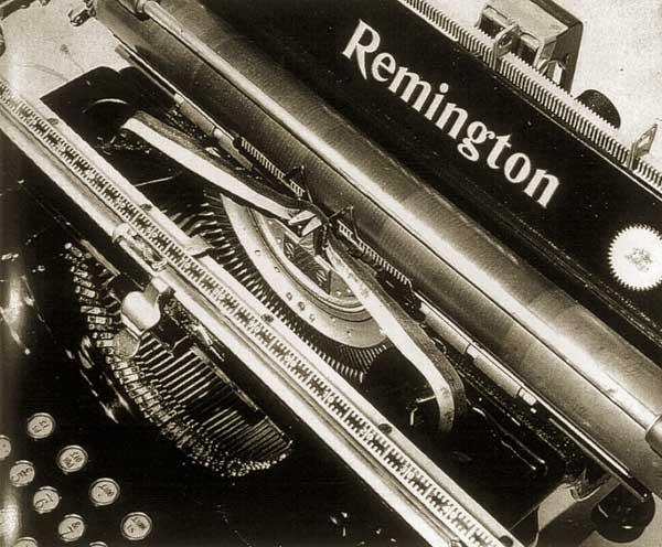 Man Ray. Typewriter, 1925 ca.