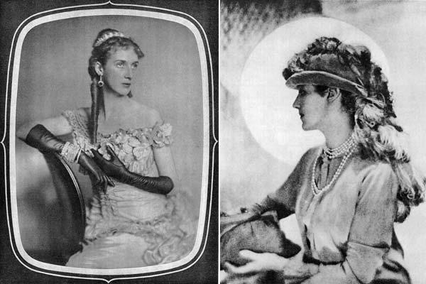 """Ghitta Carell. La comtesse Franca Visconti di Modrone, in """"Vogue"""" settembre 1930 Baron Gayne de Meyer. Daisy, 1910 ca"""