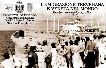 L'addio e la partenza sulla nave 'Australia', Genova 1956, FAST